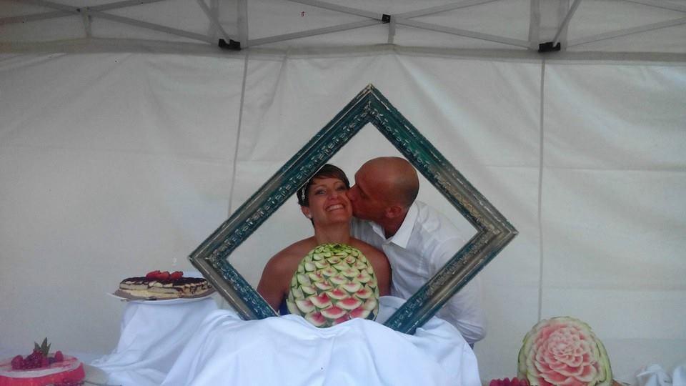 Auguri Matrimonio Ricetta : Torta panna e fragole fatta per l anniversario di matrimonio dei