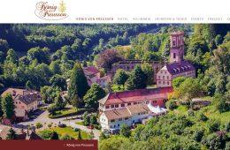 en uns, allen unseren Kunden aus Deutschland mitteilen zu können, dass unser Weingut nun mit dem renommierten Hotel und Landgasthof König von Preussen zusammenarbeitet. Jetzt finden Sie auch unseren Rotwein L'Assiolo in der erlesenen Weinauswahl des Landgasthofs König von Preussen.